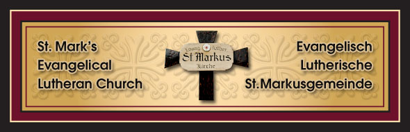 St. Mark's header